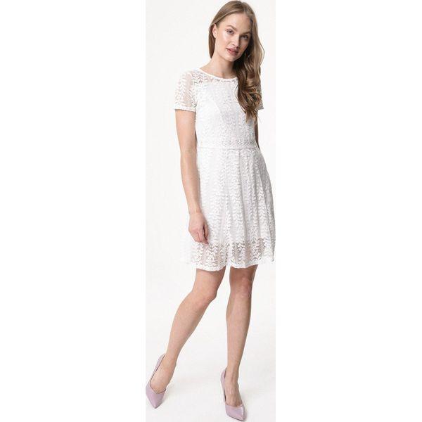 71edab0fb8 Biała Sukienka Praise - Sukienki dla dziewczynek marki Born2be. Za ...