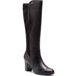 Kozaki CAPRICE - 9-25528-21 Black Nappa 022. Czarne kozaki damskie Caprice, z materiału. W wyprzedaży za 339.00 zł.