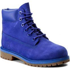 Trapery TIMBERLAND - 6 In Premium Wp Boot A1MM5 Royal Blue. Buty zimowe chłopięce Timberland, z gumy. W wyprzedaży za 389.00 zł.