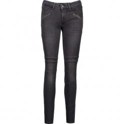 """Dżinsy """"Jasmin"""" - Slim fit - w kolorze antracytowym. Szare jeansy damskie Mustang. W wyprzedaży za 217.95 zł."""
