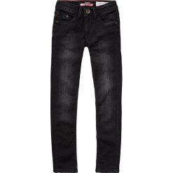 """Dżinsy """"Belinda"""" - Super Skinny fit - w kolorze czarnym. Jeansy dla dziewczynek marki bonprix. W wyprzedaży za 85.95 zł."""