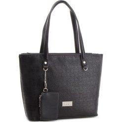Torebka MONNARI - BAGA440-020 Black. Czarne torebki do ręki damskie Monnari, ze skóry ekologicznej. W wyprzedaży za 189.00 zł.