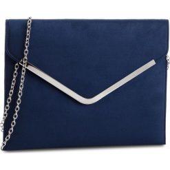 Torebka MENBUR - PACOMENA 44713  Navy 0005. Niebieskie torebki do ręki damskie Menbur, z materiału. Za 169.00 zł.