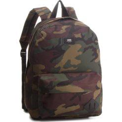 Plecak VANS - Old Skool II Ba VN000ONIJ2R Classic Camo/Black. Zielone plecaki damskie Vans, z materiału, sportowe. W wyprzedaży za 129.00 zł.