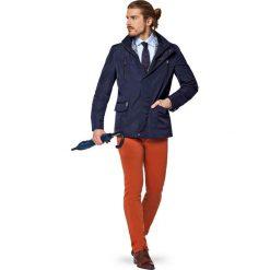 Kurtka Granatowa Victor. Niebieskie kurtki męskie LANCERTO, na lato, z jeansu. W wyprzedaży za 559.90 zł.