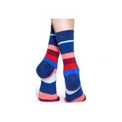 Skarpetki Happy Socks  STR01-6003. Różowe skarpety męskie Happy Socks, z bawełny. Za 24.43 zł.