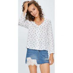 Answear - Bluzka. Szare bluzki damskie ANSWEAR, z tkaniny, casualowe. W wyprzedaży za 79.90 zł.