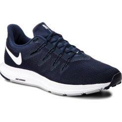 Buty NIKE - Quest AA7403 400 Obsidian/White/Midnight/Navy. Niebieskie buty sportowe męskie Nike, z materiału. W wyprzedaży za 249.00 zł.