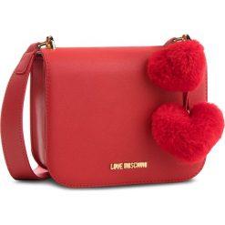 Torebka LOVE MOSCHINO - JC4324PP06KW0500 Rosso. Czerwone listonoszki damskie Love Moschino, ze skóry ekologicznej. Za 639.00 zł.
