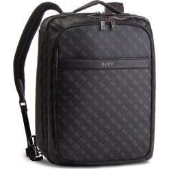 Plecak GUESS - HM6359 POL81  BLA. Czarne plecaki damskie Guess, z aplikacjami, ze skóry ekologicznej. W wyprzedaży za 669.00 zł.