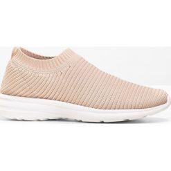 Buty wsuwane bonprix jasnoróżowy
