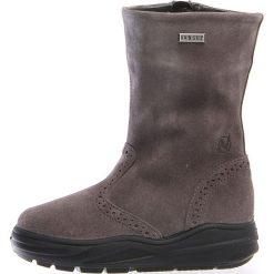 """Skórzane kozaki zimowe """"Corti"""" w kolorze antracytowym. Buty zimowe dziewczęce Zimowe obuwie dla dzieci. W wyprzedaży za 252.95 zł."""