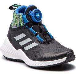 Buty adidas - FortaTrail Boa Btw K AC7483 Cblack/Refsil/Blue. Czarne obuwie sportowe damskie Adidas, z materiału. W wyprzedaży za 209.00 zł.