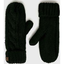 Roxy - Rękawiczki. Czerwone rękawiczki damskie Roxy, z dzianiny. W wyprzedaży za 99.90 zł.
