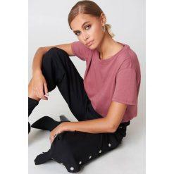 NA-KD Basic T-shirt oversize - Pink. Różowe t-shirty damskie NA-KD Basic, z bawełny. Za 52.95 zł.