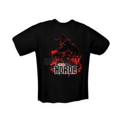 GamersWear FOR THE HORDE T-Shirt czarna (M) ( 5138-M ). Czarne t-shirty i topy dla dziewczynek GamersWear. Za 92.45 zł.