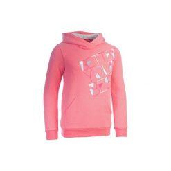 Bluza 500 Gym. Czerwone bluzy dla dziewczynek DOMYOS. Za 44.99 zł.