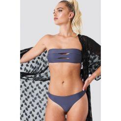 NA-KD Swimwear Dół bikini - Blue. Niebieskie bikini damskie NA-KD Swimwear. Za 60.95 zł.