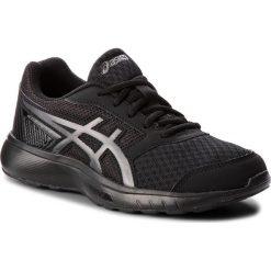 Buty ASICS - Stormer 2 T893N Black/Black 002. Czarne obuwie sportowe damskie Asics, z materiału. W wyprzedaży za 169.00 zł.