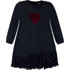 Sukienka w kolorze granatowym. Niebieskie sukienki dla dziewczynek Königsmühle. W wyprzedaży za 77.95 zł.