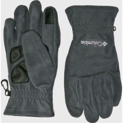 Columbia - Rękawiczki. Szare rękawiczki męskie Columbia, z dzianiny. Za 119.90 zł.