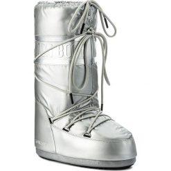 Śniegowce MOON BOOT - Classic Plus Met 14023200001 Argento. Szare śniegowce i trapery damskie Moon Boot, z materiału. Za 479.00 zł.