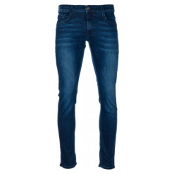 Mustang Jeansy Męskie Oregon Tapered 34/32 Ciemnoniebieskie. Niebieskie jeansy męskie Mustang. Za 398.00 zł.