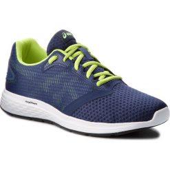 Buty ASICS - Patriot 10 1011A131 Deep Ocean/Flash Yellow 400. Niebieskie buty sportowe męskie Asics, z materiału. W wyprzedaży za 189.00 zł.