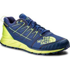 Buty THE NORTH FACE - Ultra Endurance II T939IE4CU Brit Blue/Dayglo Yellow. Niebieskie buty sportowe męskie The North Face, z materiału. W wyprzedaży za 389.00 zł.