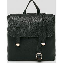 Answear - Plecak. Czarne plecaki damskie ANSWEAR, z materiału. W wyprzedaży za 79.90 zł.