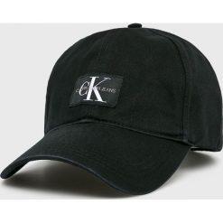 Calvin Klein Jeans - Czapka. Czarne czapki i kapelusze męskie Calvin Klein Jeans. Za 159.90 zł.