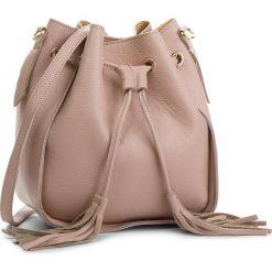 Torebka CREOLE - K10540  Pudrowy Róż. Czerwone torebki do ręki damskie Creole, ze skóry. Za 169.00 zł.
