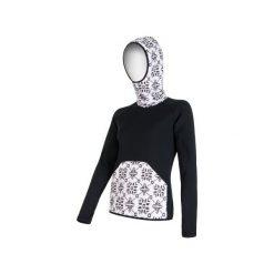 Sensor Bluza Z Kapturem Tecnostretch Black S. Czarne bluzy damskie Sensor, z materiału. Za 319.00 zł.