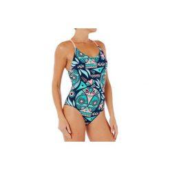 Strój jednoczęściowy pływacki Riana Owl damski. Niebieskie kostiumy jednoczęściowe damskie NABAIJI. Za 79.99 zł.