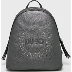Liu Jo - Plecak. Szare plecaki damskie Liu Jo, z materiału. Za 599.90 zł.