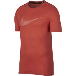 Nike T-Shirt Męski M Nk Brt Run Top Ss Gx Rush Coral Crimson Bliss L. T-shirty męskie Nike, z materiału. Za 105.00 zł.