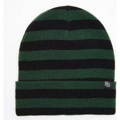 Czapka w paski - Zielony. Zielone czapki i kapelusze męskie Cropp. Za 39.99 zł.