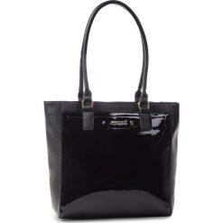 Torebka MONNARI - BAG6141-020 Black Lacquer. Czarne torby na ramię damskie Monnari. W wyprzedaży za 199.00 zł.