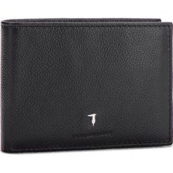 Duży Portfel Męski TRUSSARDI JEANS - Wallet Credit Card Coin Pocket Tumbled 71W00004 K299. Czarne portfele męskie TRUSSARDI JEANS, z jeansu. Za 299.00 zł.