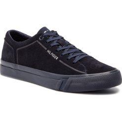 bef38b59 Tenisówki TOMMY HILFIGER - Corporate Suede Sneaker FM0FM02090 Midnight 403.  Trampki męskie marki Tommy Hilfiger