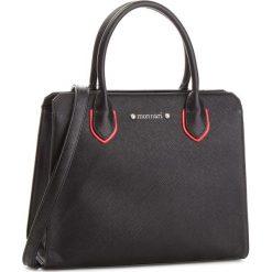 Torebka MONNARI - BAG9960-020  Black. Czarne torebki do ręki damskie Monnari, ze skóry ekologicznej. W wyprzedaży za 199.00 zł.