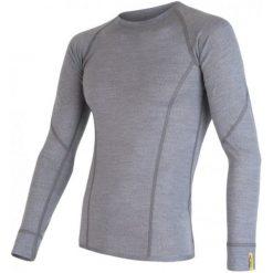 Sensor Koszulka Termoaktywna Z Długim Rękawem Merino Wool Active M Gray Xl. Szare koszulki sportowe męskie Sensor, z materiału, z długim rękawem. Za 215.00 zł.