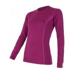 Sensor Koszulka Termoaktywna Z Długim Rękawem Merino Wool Active W Lilla M. Czerwone koszulki sportowe damskie Sensor, z materiału, z długim rękawem. Za 215.00 zł.