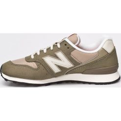 New Balance - Buty. Szare obuwie sportowe damskie New Balance, z materiału. W wyprzedaży za 219.90 zł.