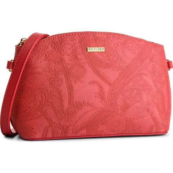 e4cd21919e763 Torebka WITTCHEN - 87-4Y-553-3 Czerwony - Czerwone torebki do ręki ...