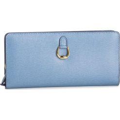 Duży Portfel Damski LAUREN RALPH LAUREN - Bennington 432688520014 Blue. Niebieskie portfele damskie Lauren Ralph Lauren, ze skóry. Za 599.00 zł.