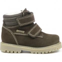 Botki zimowe w kolorze brązowym. Brązowe buty zimowe chłopięce Richter, Bundgaard, Lurchi, z materiału. W wyprzedaży za 172.95 zł.