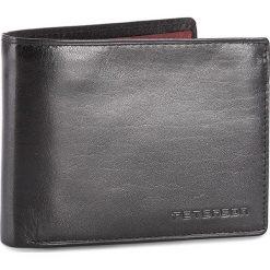 Duży Portfel Męski PETERSON - 3904/A-04-01-01 Czarny. Czarne portfele męskie Peterson, ze skóry. W wyprzedaży za 129.00 zł.