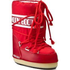 Śniegowce MOON BOOT - Nylon 14004400003 Rosso M. Śniegowce dziewczęce Moon Boot, z materiału. W wyprzedaży za 249.00 zł.