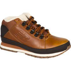 New Balance - Buty H754LFT. Brązowe buty sportowe męskie New Balance, z materiału. Za 399.90 zł.
